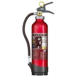 アルミ製蓄圧式粉末ABC消火器 《アルテシモ》 業務用 総質量約2.9kg リサイクルシール付