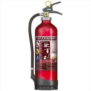 アルミ製蓄圧式粉末ABC消火器 《アルテシモ》 業務用 総質量約4.6kg リサイクルシール付