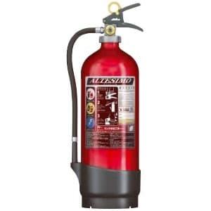 アルミ製蓄圧式粉末ABC消火器 《アルテシモ》 業務用 総質量約8.1kg リサイクルシール付