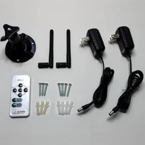 無線カメラセット デジタル2.4GHz帯 防水・防塵タイプ IP66相当 天井・壁面取付 画像2