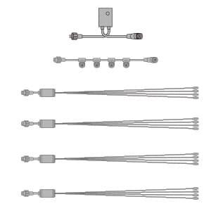 LEDホタルセット (4連1組×4)