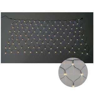 LEDクロスネット 2×1m(黄/黄)