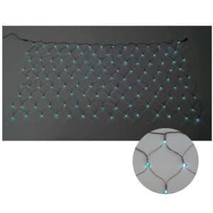 LEDクロスネット 2×1m(緑/緑)