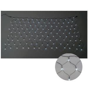 LEDクロスネット 2×2m(白/白)