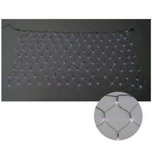 LEDクロスネット 2×2m(ピンク/ピンク)