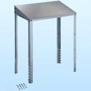 クーラーキャッチャー 防雪屋根 塩害地向け 天板:ZAM®鋼板 溶融亜鉛メッキ仕上げ 《goシリーズ》