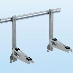 PCキャッチャー 壁面用 水平調整機構付 溶融亜鉛メッキ仕上げ 《goシリーズ》