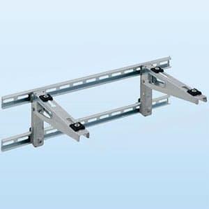 PCキャッチャー 壁面用ブラケットタイプ 水平調整機構付 溶融亜鉛メッキ仕上げ 《goシリーズ》