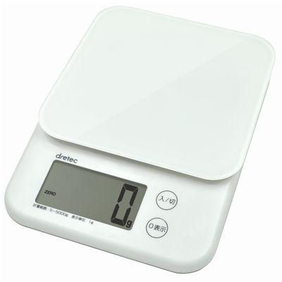 デジタルスケール「バルケット」5kg ホワイト