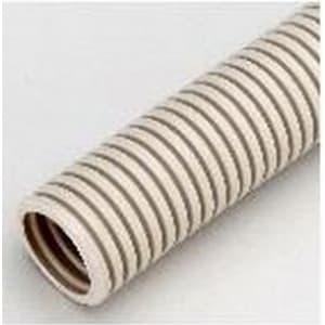 カナフレキスーパーNタイプ 露出、埋没兼用管 PF管 外径φ21.5mm 内径φ15.2mm 長さ50m ベージュ
