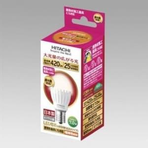 LED電球 小形電球形 調光器対応 広配光タイプ 電球色 E17