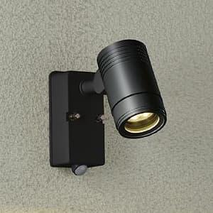 LEDブラケットライト 超広角60° 人感センサー付ON/OFFタイプI  防雨形 白熱灯80W相当 非調光タイプ 10.1W 首振外向90°回転360° 電球色タイプ 黒サテン