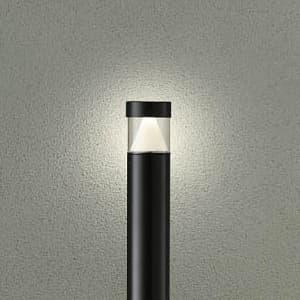 LEDローポール モジュールタイプ 白熱灯60W相当 非調光タイプ 防雨形 拡散パネル付 電球色タイプ ブラック
