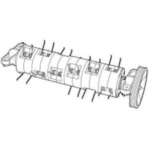 リール式電動芝刈機用サッチング刃 230mm