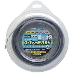 電気草刈機用シャープネスコード 丸型 2.0mm×10m