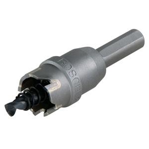 超硬ホールソー 回転専用 4.5mmまで シャンク径φ10mm 刃先径φ22mm