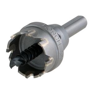 超硬ホールソー 回転専用 4.5mmまで シャンク径φ10mm 刃先径φ23mm
