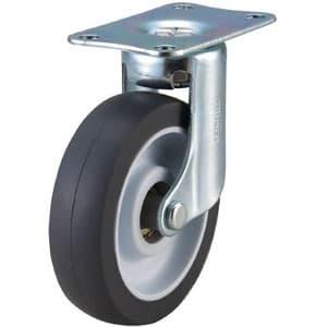 取り替えキャスター weego専用 自在式 省音タイプ 車輪径75mm オフホワイト