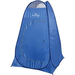 《CAPTAIN STAG》 シャイニーリゾート ポップアップ着替えテントUV バッグ付 ブルー