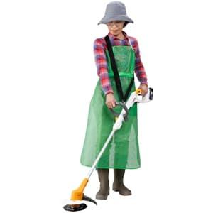 園芸作業用ワンタッチエプロン
