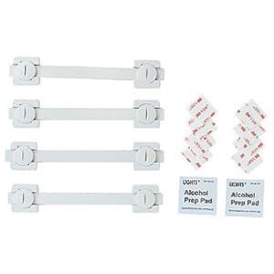 耐震用ストッパー(ロング、4本入り) 耐震度7