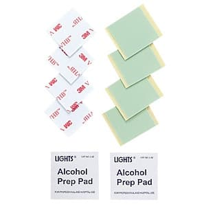 両面テープ&アルコールパッド QL-59耐震ストッパー交換用