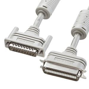 プリンタケーブル(5m) D-sub25pin IEEE1284 コア付