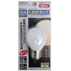 S35形 ミニランプ形LEDランプ ホワイト 全光束:35lm 10〜15W相当 電球色 E17口金