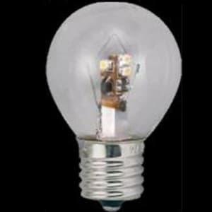 S35形 ミニランプ形LEDランプ クリア 全光束:40lm 10〜15W相当 電球色 E17口金