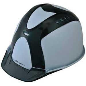 通気孔ヘルメット アメリカンタイプ 内装800M 飛来/墜落 ソフト透過バイザー・ショックアブソーバー付ソフトカバー装備 《Verno SS-800 VersionⅠ》
