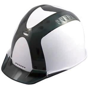 通気孔ヘルメット アメリカンタイプ 内装800M 飛来/墜落 フェイスシールド付 ソフト透過バイザー・ショックアブソーバー付ソフトカバー装備 《Verno SS-800 VersionⅠ》