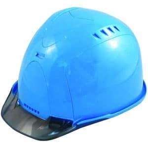 通気孔ヘルメット アメリカンタイプ 内装800M 飛来/墜落 ソフト透過バイザー・ABS樹脂カバー装備 《Verno SS-800 VersionⅡ》