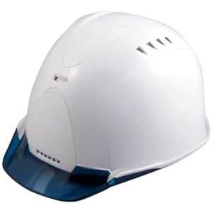 通気孔ヘルメット アメリカンタイプ 内装800M 飛来/墜落 フェイスシールド付 ソフト透過バイザー・ABS樹脂カバー装備 《Verno SS-800 VersionⅡ》