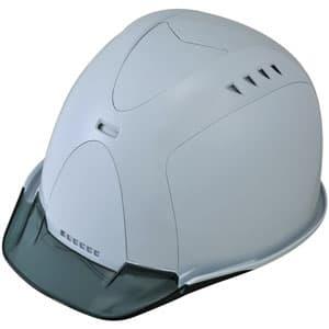 通気孔ヘルメット アメリカンタイプ 内装Z 飛来/墜落 ソフト透過バイザー・ABS樹脂カバー装備 《Verno SS-800 VersionⅡ》