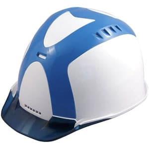 通気孔ヘルメット アメリカンタイプ 内装Z 飛来/墜落 フェイスシールド付 ソフト透過バイザー・ABS樹脂カバー装備 《Verno SS-800 VersionⅡ》