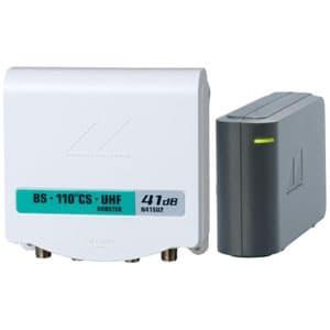 BS・110°CS・UHF電源分離型ブースター 出力モニター端子付 UHF・VHF入力側電通切換スイッチ付