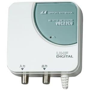 BS・110°CS・UHF卓上型ブースター 屋内用 VHFパスタイプ