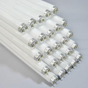 カラー蛍光ランプ 直管 グロースタータ形 20W 青白色
