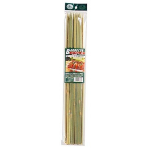 《CAPTAIN STAG》竹製バーベキュー串(角)45cm 20本入