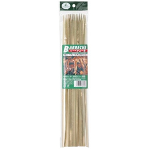 《CAPTAIN STAG》竹製バーベキュー串(角)36cm 20本入