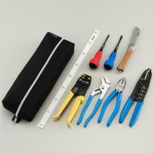 電気工事士技能試験工具セット 基本工具+VVFストリッパー