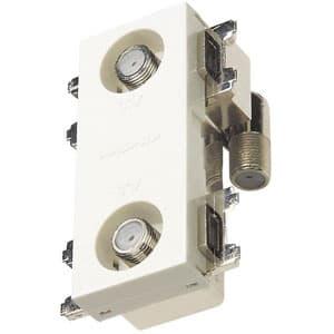 直列ユニット 2端子型 中継用 4K・8K衛星放送対応 上 り帯域カットフィルタースイッチ付