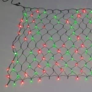 LEDクロスネット ランダム点滅タイプ 2色タイプ 赤・緑