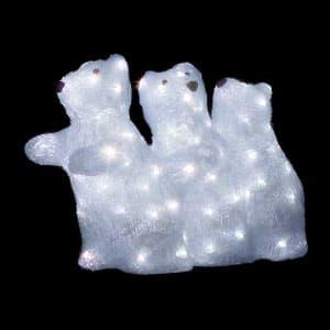 LEDジョイントモチーフ 白クマ(C) 小サイズ コントローラー・整流器対応