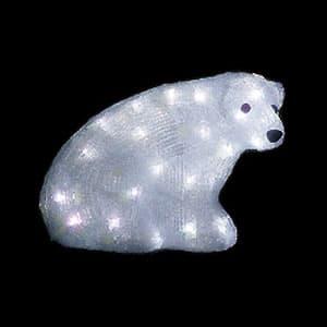 LEDジョイントモチーフ 白クマ(B) 小サイズ コントローラー・整流器対応