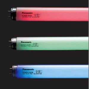 カラーパルック蛍光灯 直管 ラピッドスタート形 40W レッド