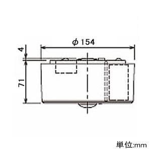 LED非常用照明器具 直付型 一般形 30分間タイプ 9形 低天井用(〜3m) リモコン自己点検機能付 昼白色 画像3