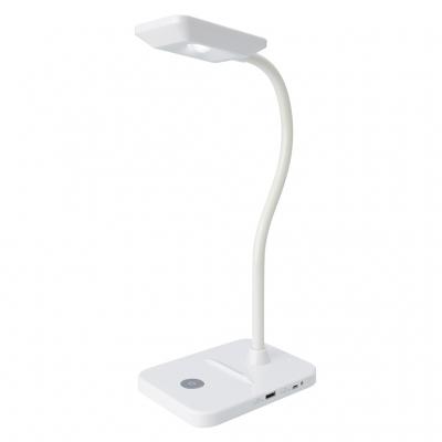 蓄電池LEDスタンドライトUSB白