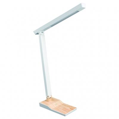5W木目調スタンド 調光機能付 ナチュラル