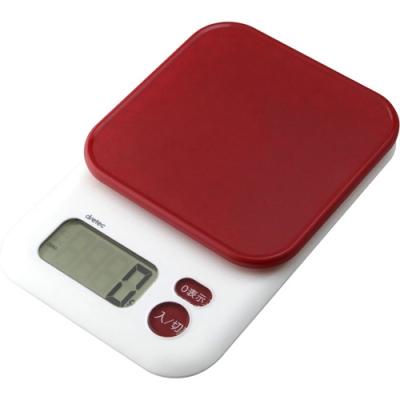 デジタルスケール「ガナッシュ」3kg レッド